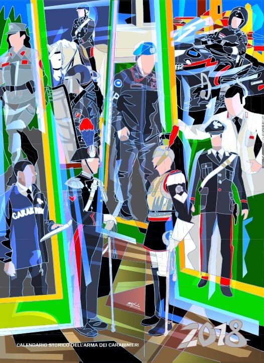 Arma, presentato il calendario 2018 Omaggio ai carabinieri in missione