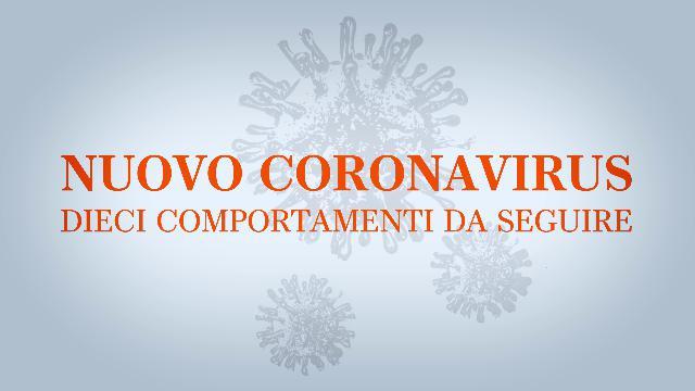 Nuova allerta Coronavirus in Italia: i dieci consigli del Ministero della Salute (pieghevole)