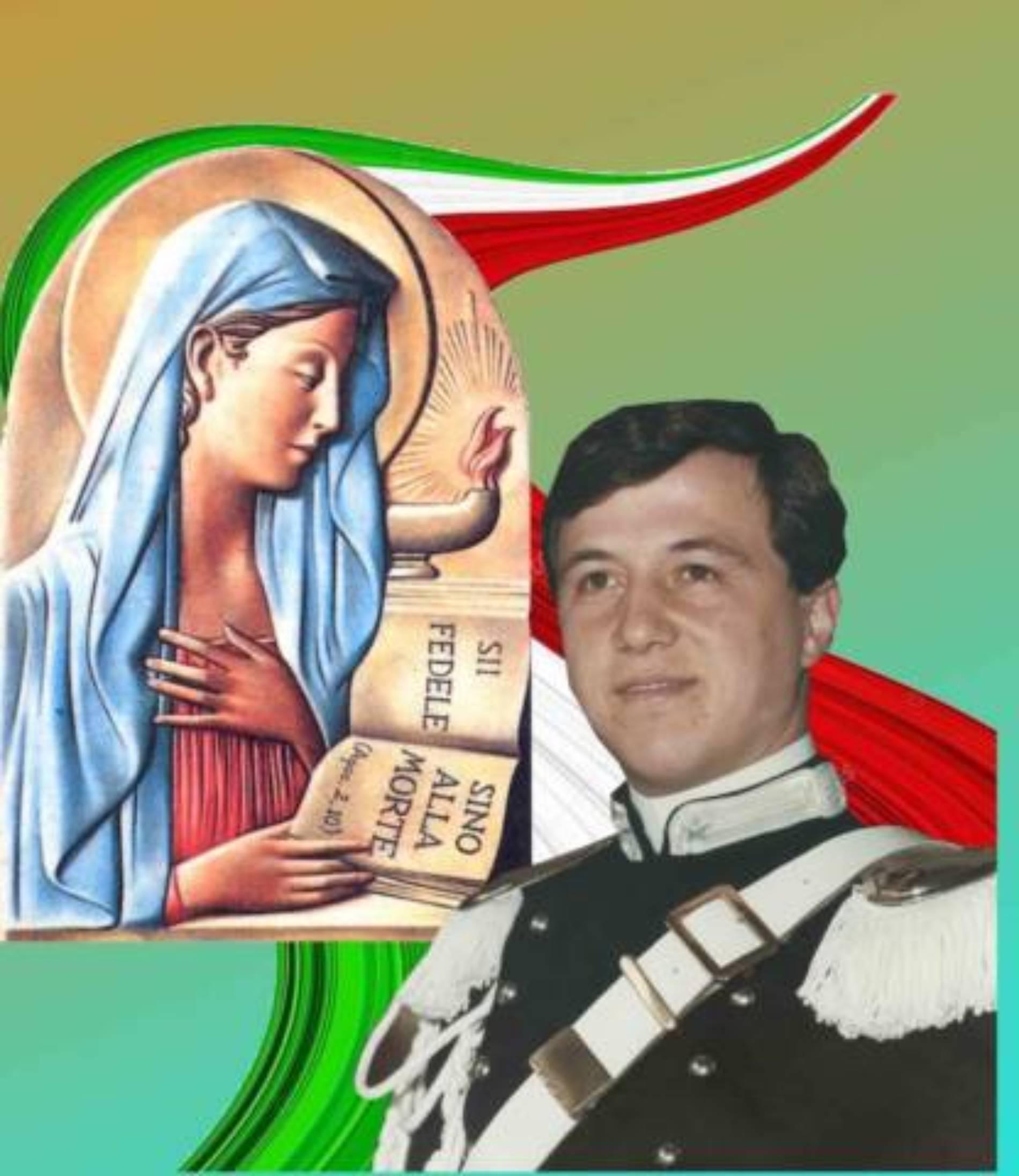 BARRAFRANCA. Celebrato il 28° della morte dell'appuntato dei carabinieri Michele Fiore