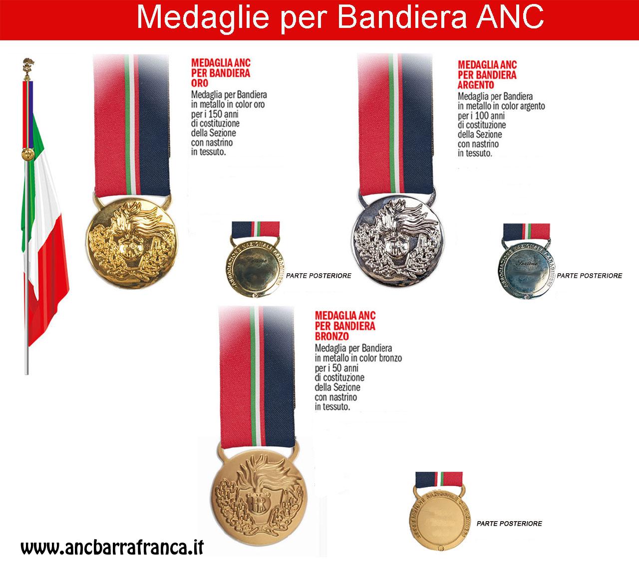 Medaglie Bandiera ANC